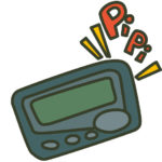 <strong><em>Poketto Beru</em></strong> (ポケットベル – Pager/Beeper) Part 1
