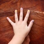 The Names of the Fingers for Children